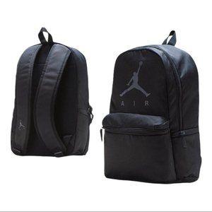 NEW NIKE Jordan Jumpan Air Pack Backback Black Bag